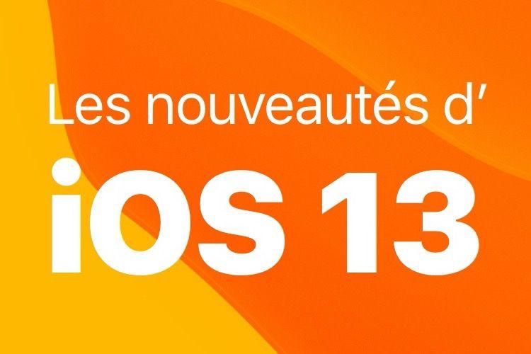 """Le livre """"Les nouveautés d'iOS13"""" sort ce mercredi"""