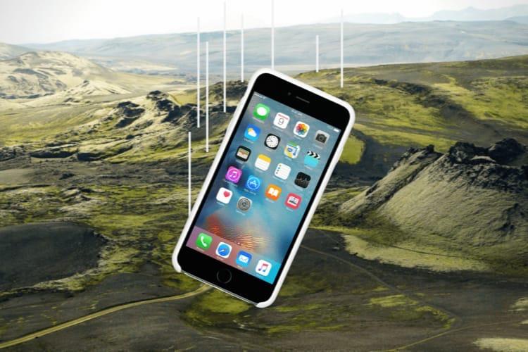 Un iPhone6s Plus résiste à une chute de 60m, puis à un an sur le sol islandais 🤯