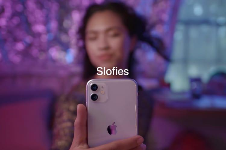 Apple pense vraiment que les slofies des iPhone11 vont avoir du succès