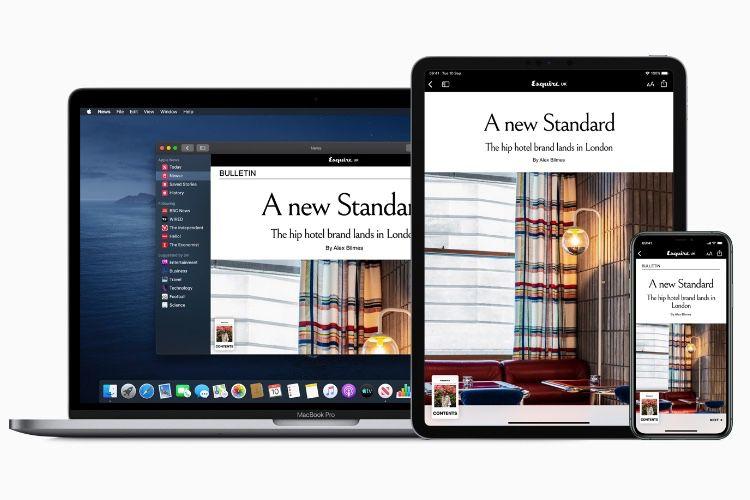 Apple ouvre son kiosque Apple News+ au Royaume-Uni et en Australie