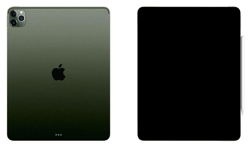 Concept : un nouvel iPad Pro inspiré par l'iPhone 11 Pro