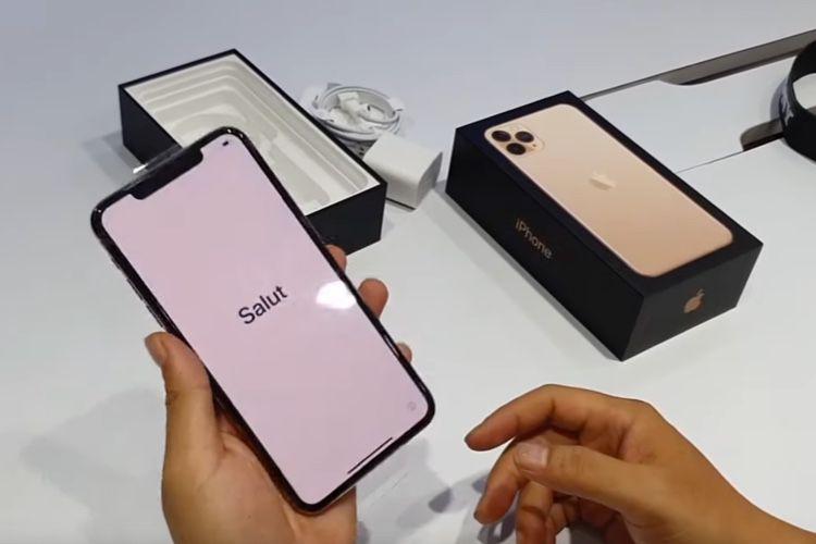 Les déballages d'iPhone 11 Pro ont commencé