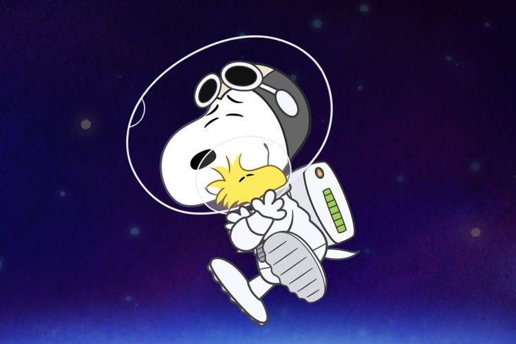video en galerie : Des bandes-annonces pour Snoopy in Space et les programmes pour enfants d'AppleTV+