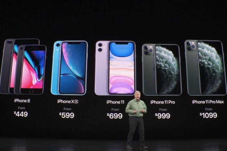 De l'iPhone8 à l'iPhone 11 Pro Max, une gamme dans la continuité