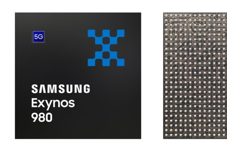 L'Exynos 980 de Samsung intègre un modem 5G