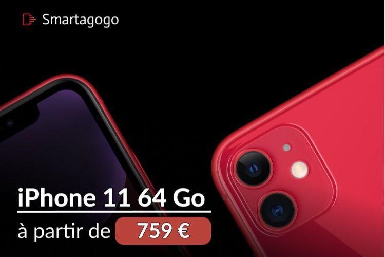 Offre exclusive Smartagogo : l'iPhone 11 dès 759€, la livraison UPS offerte!  📣