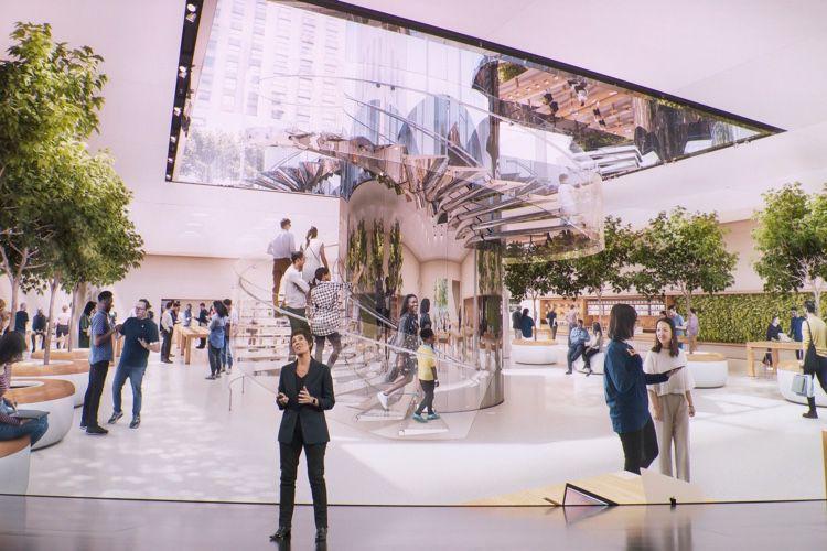 image en galerie : L'AppleStore de la 5e avenue réouvrira avec les iPhone11