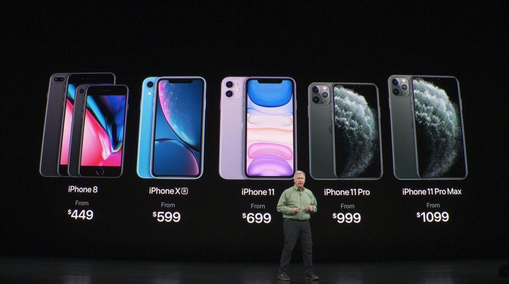 De l'iPhone 8 à l'iPhone 11 Pro Max, une gamme dans la