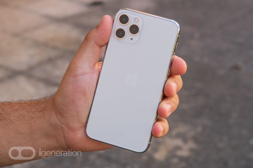 Test The Iphone 11 Pro A Camera Holding The Phone