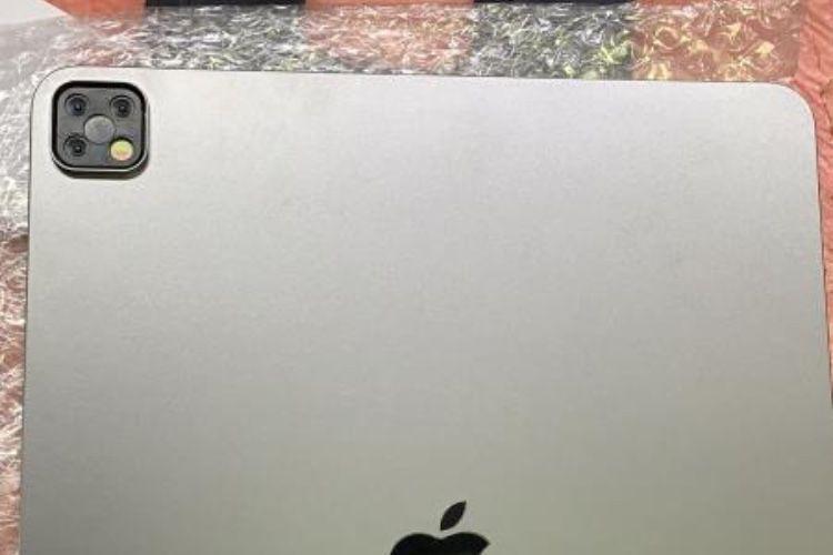 Le nouveau bloc photo de l'iPadPro en fuite