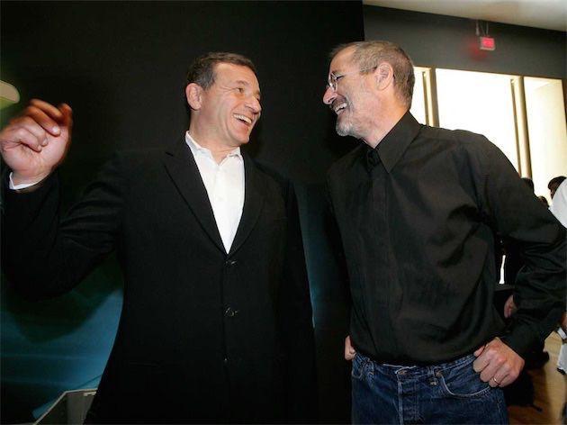 Bob Iger : si Steve Jobs était toujours là, Disney et Apple auraient