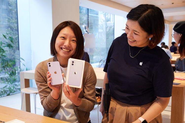 Jour de lancement pour les iPhone 11