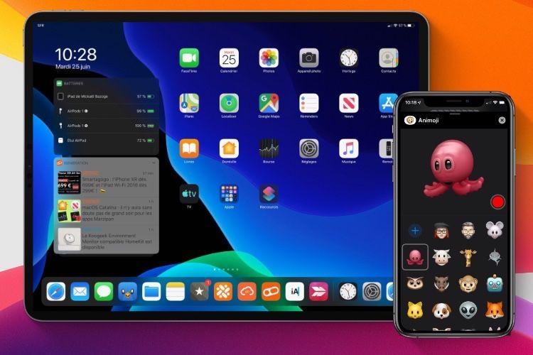 iOS13 et watchOS6 le 19 septembre, iOS13.1, iPadOS 13 et tvOS 13 le 30 septembre