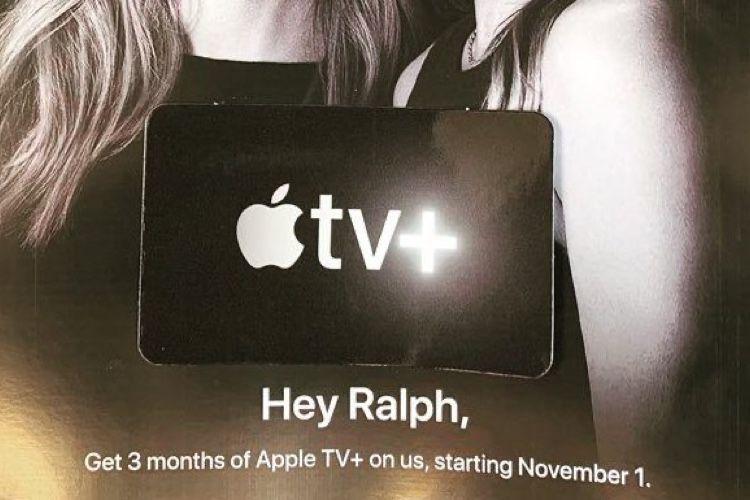 AppleTV+: des mois offerts pour appâter les clients