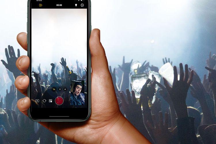 DuetCam: filmez-vous en train de filmer avec votre iPhone
