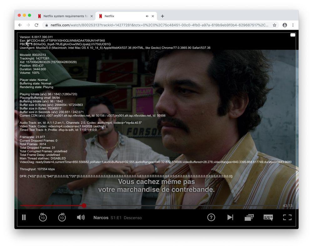 Pour regarder Netflix sur Mac, préférez Safari à Chrome (pour