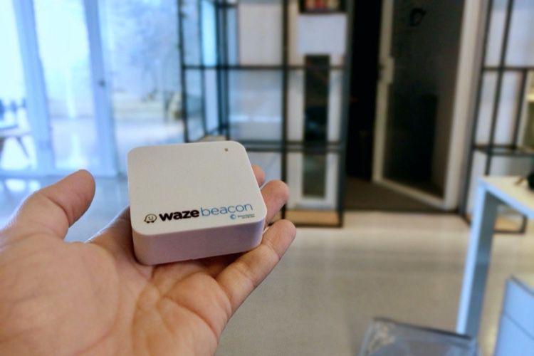Est-ce Apple qui s'intéresse aux bornes de localisation en tunnel de Waze?