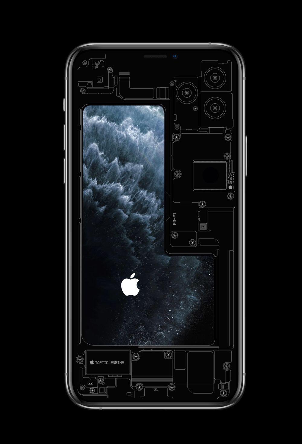 Des Fonds D Ecran Qui Exposent Les Entrailles Des Iphone 11