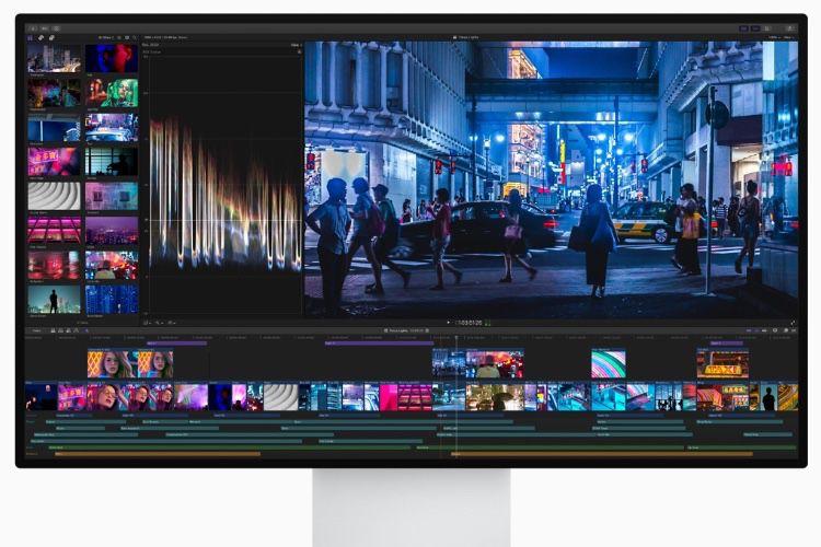 FinalCutProX déjà optimisé pour le MacPro et l'écran Pro Display XDR