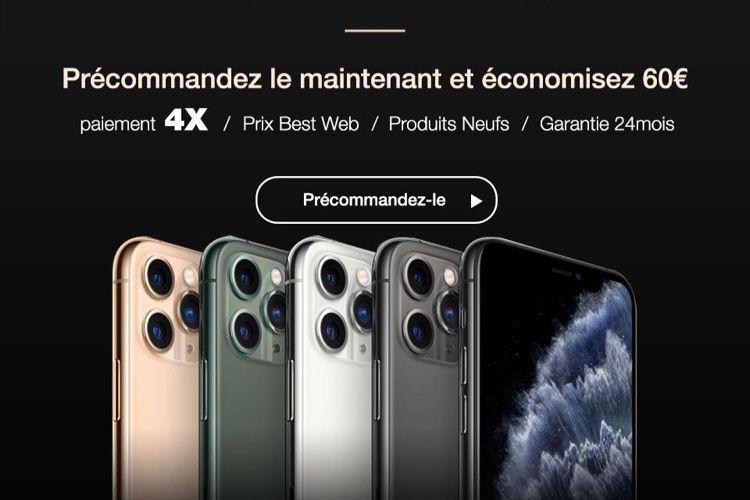 Obtenez l'iPhone 11 Pro au meilleur prix du marché avec une garantie complète de 2 ans!  📣