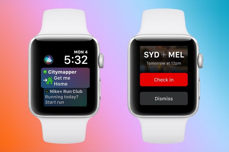 watchOS 5.3.2 disponible pour les Apple Watch Series 4