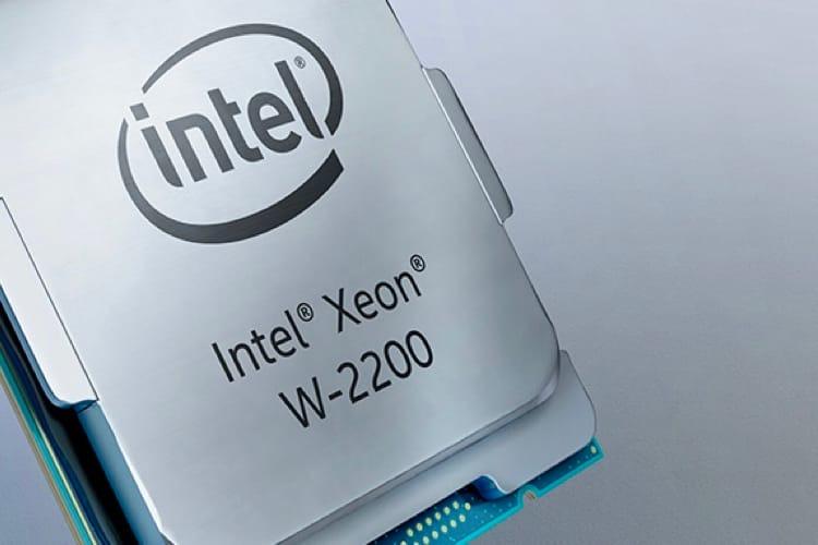 Chez Intel, les processeurs Xeon W du futur iMacPro sont là