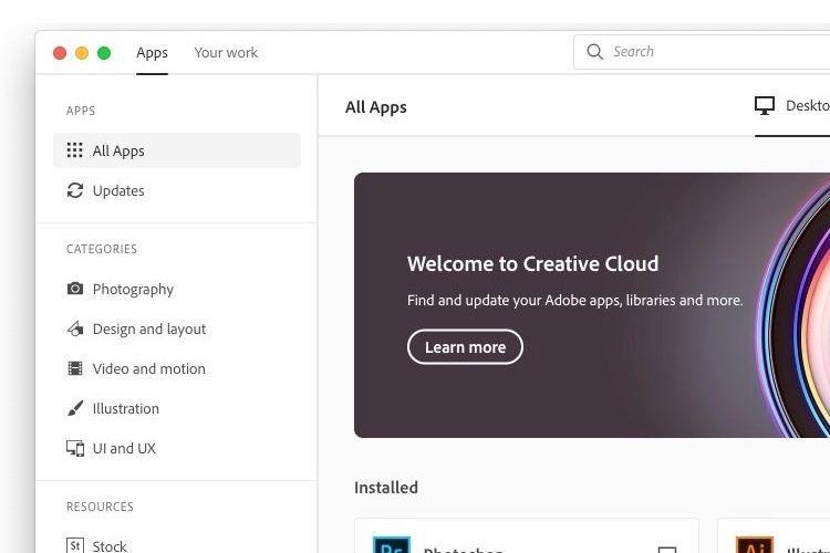 Une nouvelle app Creative Cloud pour s'y retrouver dans la jungle d'Adobe