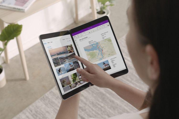Surface Neo : dix ans après le Courier, Microsoft dévoile son ordinateur à deux écrans
