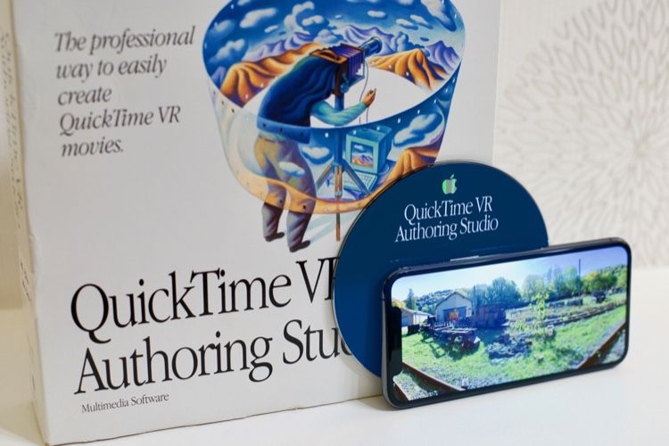 Quand l'iPhone rencontre QuickTime VR