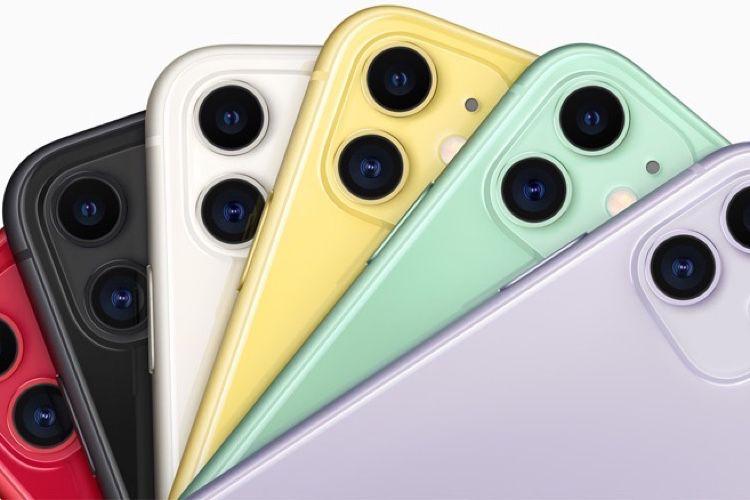 Promo iPhone 11 : -50 à -60€ sur les 3 capacités