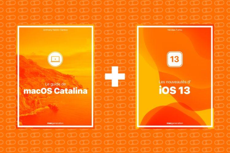 Nos livres sur iOS13 et Catalina en vente sur Apple Books