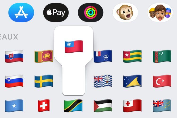 Apple dissimule le drapeau taïwanais sur les iPhone à Hong Kong et Macao