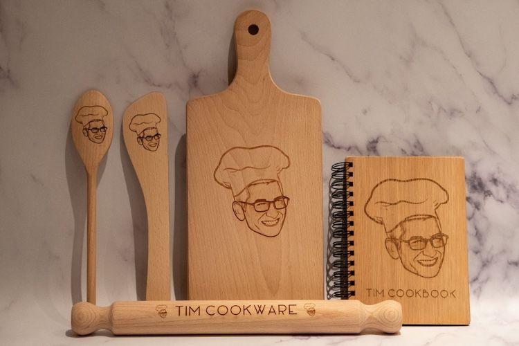 Cuisinez comme un chef avec les ustensiles Tim Cook👨🍳