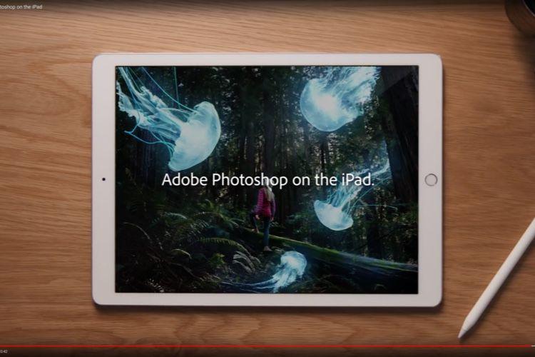Adobe finalise un Photoshop sur iPad plus limité que sur Mac