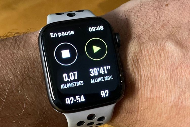 Nike Run Club devient autonome sur l'Apple Watch
