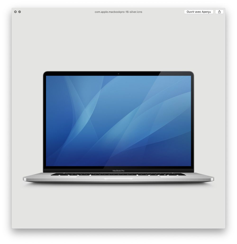 "macOS 10.15.1 renferme le MacBook Pro 16"""