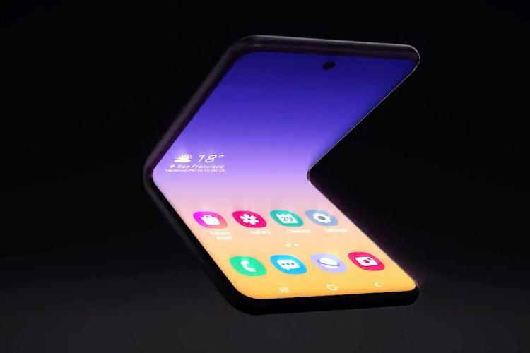 video en galerie : OKLM, Samsung dévoile un nouveau Galaxy Fold format «portefeuille»