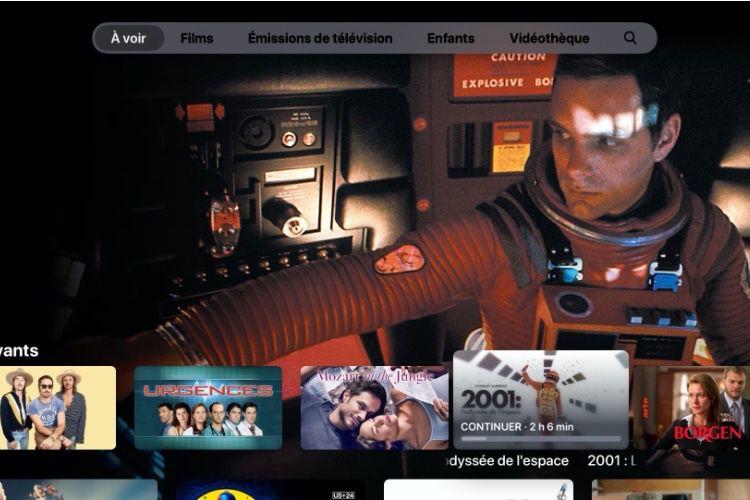 tvOS13 : l'application AppleTV est instable