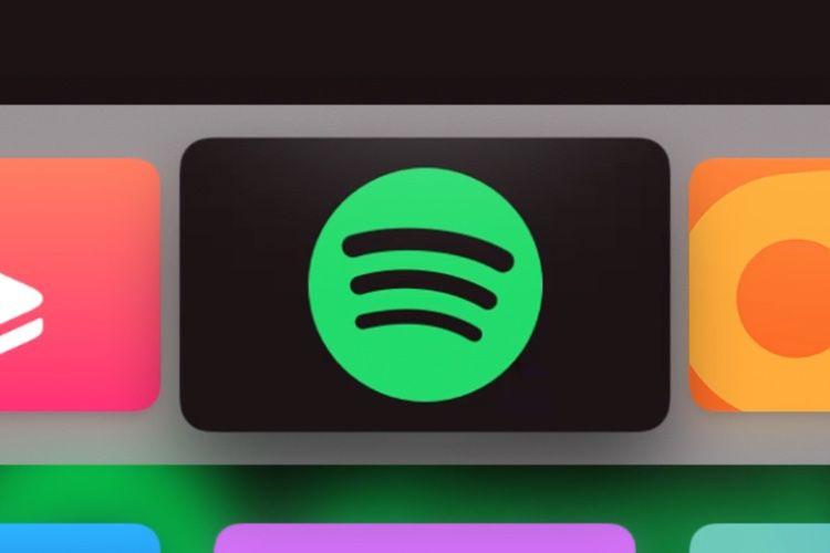 Spotify s'écoute maintenant sur l'AppleTV