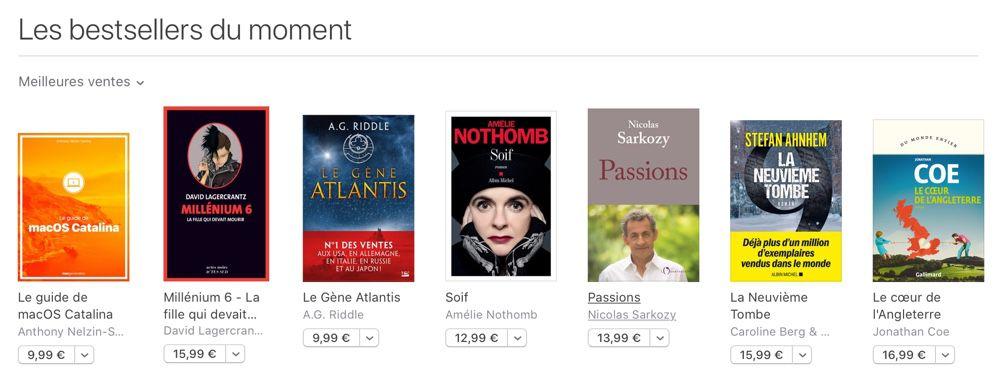 Nos livres sur iOS 13 et Catalina en vente sur Apple Books