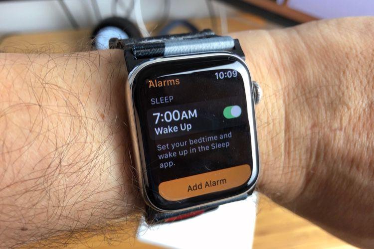 Apple Watch : la fonction de suivi du sommeil en fuite dans l'app Réveils