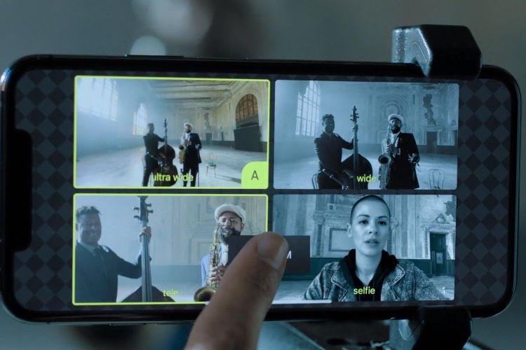 L'enregistrement vidéo simultané d'iOS13 limité à du 1080p