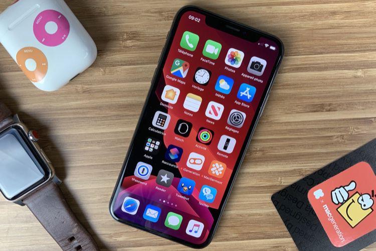 Plus de la moitié des iPhone sont sous iOS13