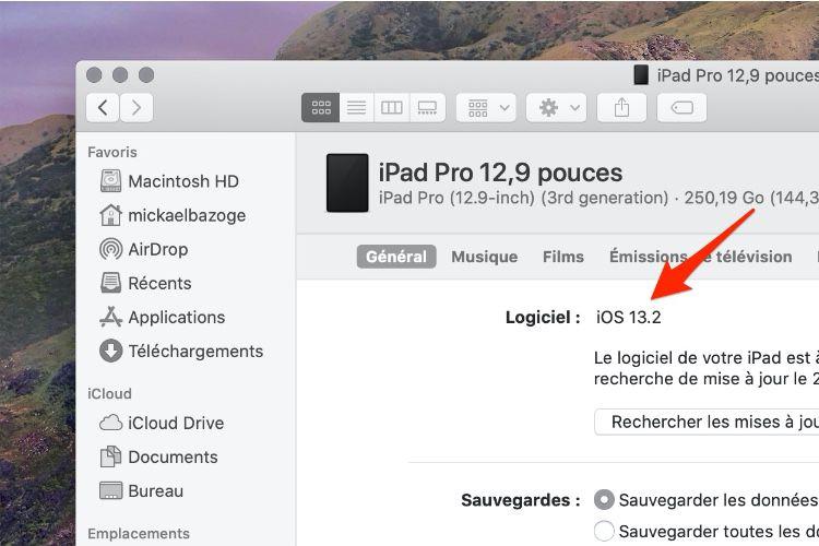 image en galerie : Pour macOS, l'iPad fonctionne toujours sous iOS