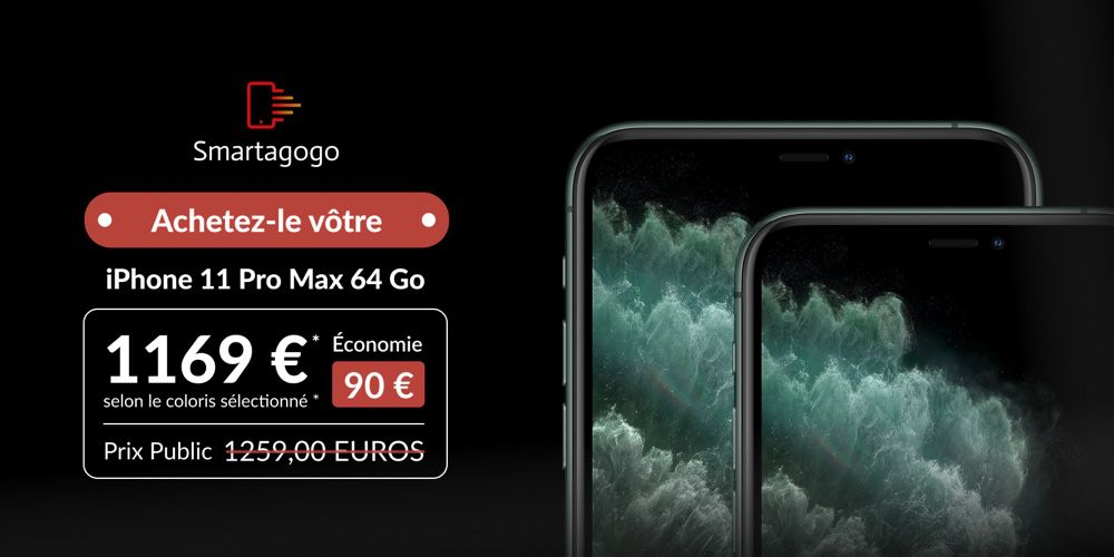 mg d05e7c9a 203d 4d37 a526 w1000h500 sc - Smartagogo: the iPhone 11 from 759 €, the delivery UPS Point Relay in 48 hours offered! 📣 - MacGeneration