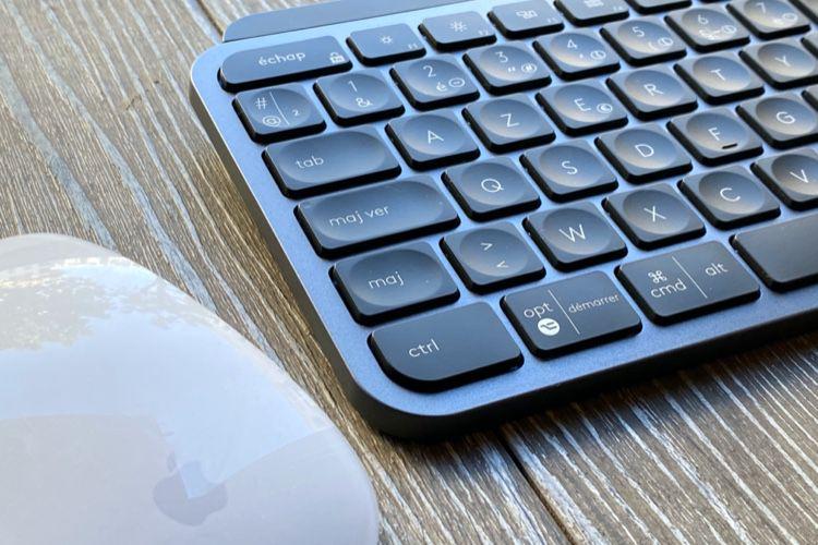 Test du clavier Logitech MXKeys pour Mac et PC