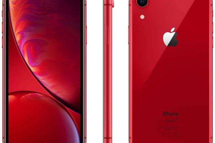 Promo : -50€ sur des iPhoneXR en rouge et noir