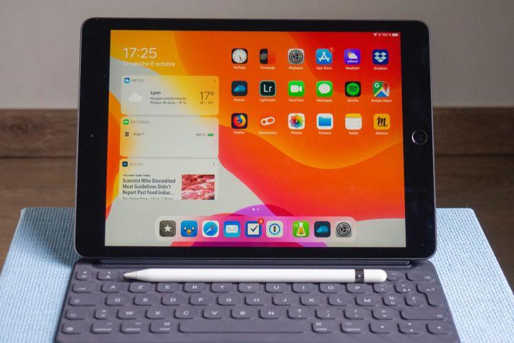 Test de l'iPad 7 : un iPad accessoire