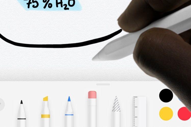 Brevet : des retours haptiques dans l'Apple Pencil grâce aux aimants