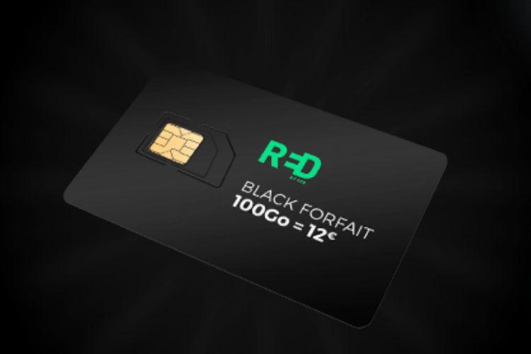 Le forfait SFR RED 100 Go à 12€/mois (compatible AppleWatch)